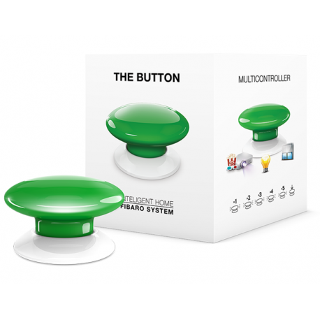 Fibaro The Button - Grön