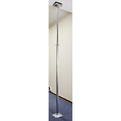 Balkongfäste golv/tak 1400-2500 mm