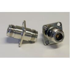 Adapter N-hona till N-hona för panelmontering Mobilt bredband