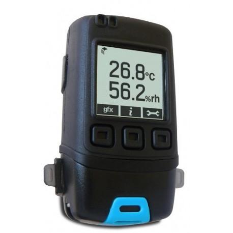 EL-GFX-2+ Noggrann Temperatur och luftfuktighetslogger med Grafisk LCD skärm
