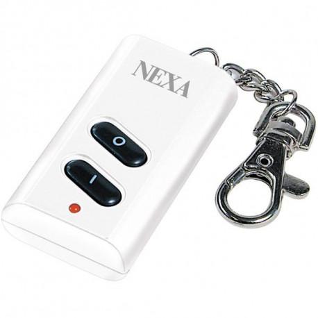 NEXA LKCT-614, fjärrkontroll för styrning av samtliga mottagare i System Nexa, gruppstyrning, fyra kanaler, vit