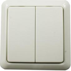 Nexa, väggsändare 2-kanals, På/Av och dimmer, trappfunktion, självlärande