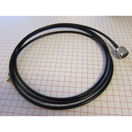 Antennkabel N-hane till RP-SMA hane 2m (LMR195)
