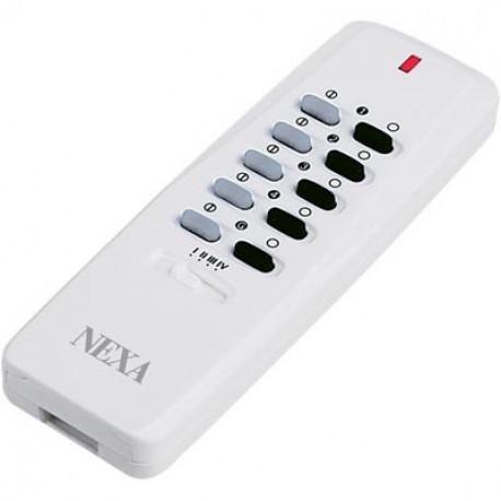 Nexa fjärrkontroll med 16 kanaler, självlärande och dimmerfunktion