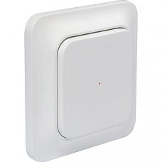 System Nexa Pro WT-1, trådlös väggsändare med strömbrytare, en kanal, 433,92MHz, 50m räckvidd, IP20, vit
