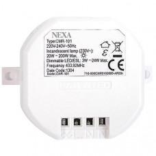 Nexa CMR-101, trådlös mottagare med dimmer Hemautomation