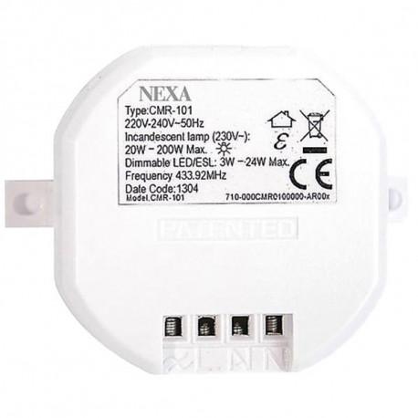 Nexa CMR-101, trådlös mottagare med dimmer