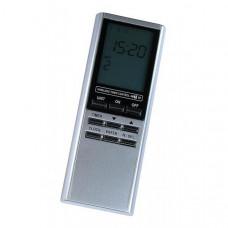 Nexa, trådlös digital fjärrkontroll, På/Av, dimmer, timer, klocka, 16 kanaler Hemautomation