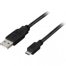 USB 2.0 kabel Typ A ha - Typ Micro B ha 0,5m Dator & Elektronik