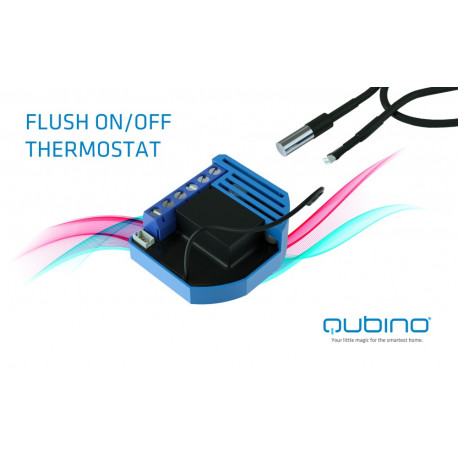 Qubino On/Off Thermostat