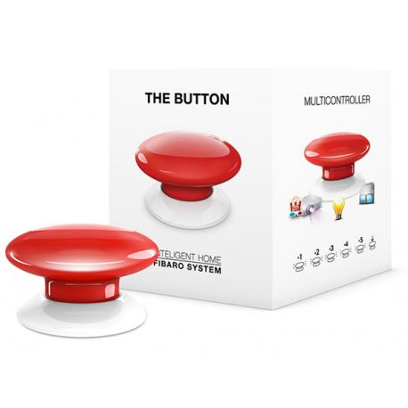 Fibaro The Button - Röd