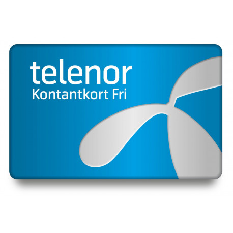 Telenor kontantkort - Fastpris