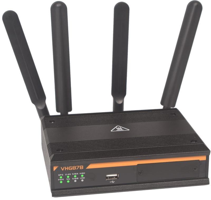 AMIT VHG87B 4G LTE Cat 6 300 Mbps router AC WiFi