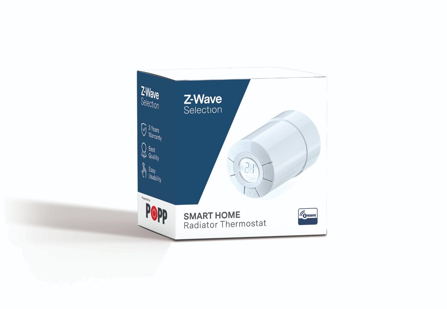 Z-Wave Selection Radiator Thermostat
