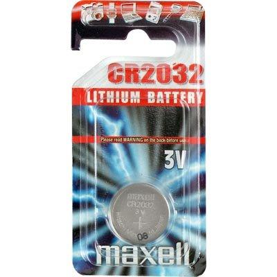 Maxell knappcellsbatteri, lithium, 3V, CR2032, 1-pack