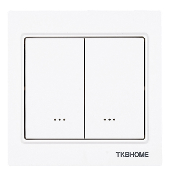 TKB Home Dimmermoudle with Dual Paddle