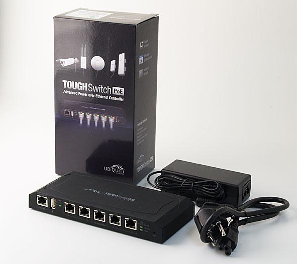 Ubiquiti ToughSwitch 5xPoE 10/100/1000 24V