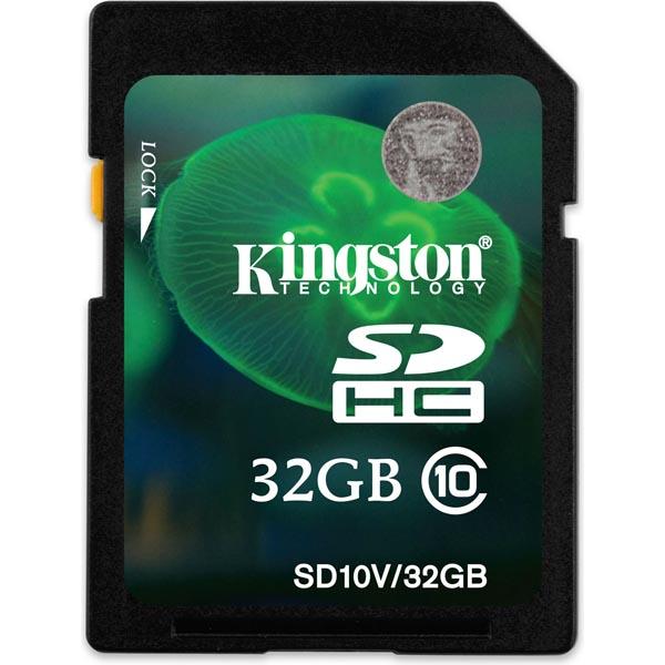 Kingston minneskort SDHC 32GB Class 10