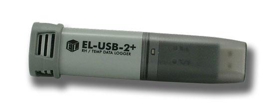 EL-USB-2+ Datalogger för temperatur och luftfuktighet med hög noggrannhet