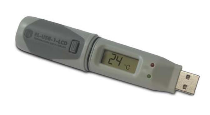 EL-USB-1-LCD Datalogger för temperatur med display
